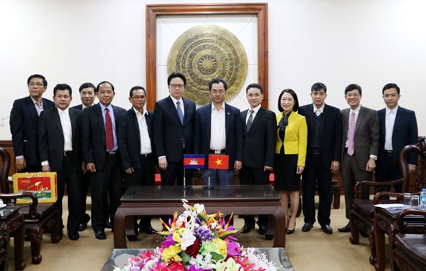Cambodia hopes to send more students to Thai Nguyen hinh anh 1