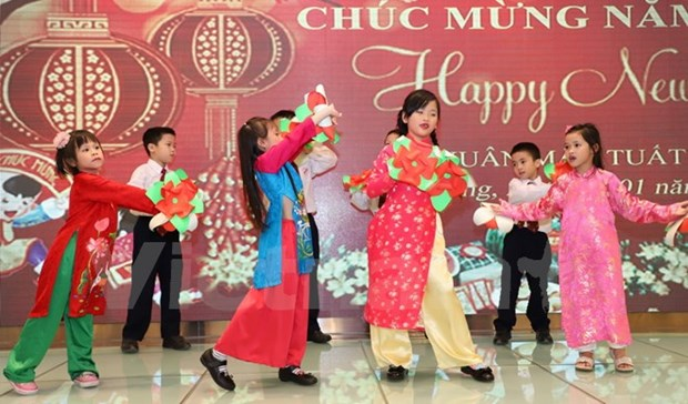 Vietnamese expats in Hong Kong gather for Tet celebrations hinh anh 1