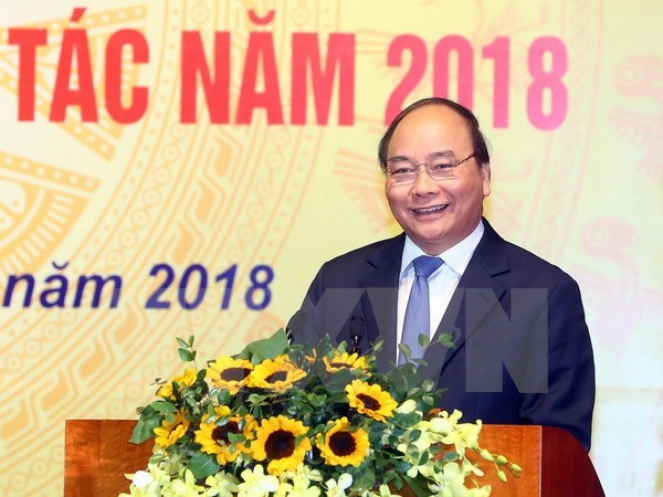 Prime Minister hails statistics sector's performance in 2017 hinh anh 1