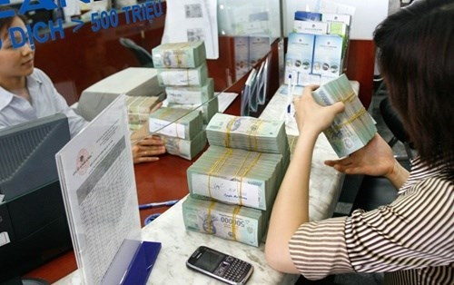 Reference exchange rate goes down 5 VND hinh anh 1