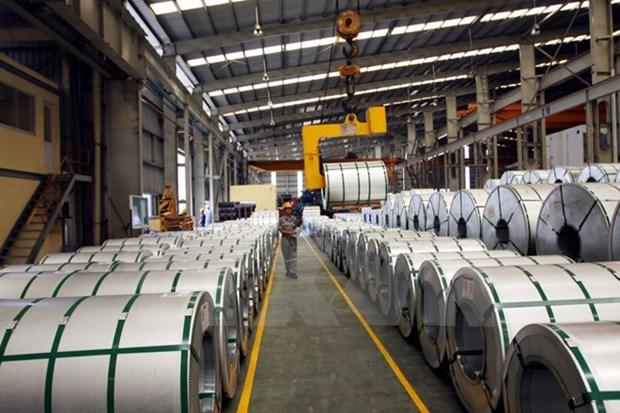 Vietnam's steel export enjoys 34-percent growth hinh anh 1