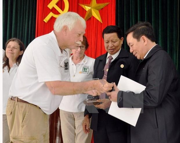 Vietnam Veterans of America members honoured hinh anh 1