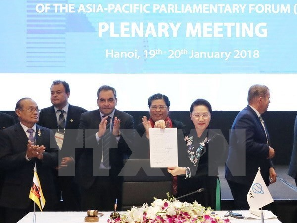 APPF-26 – success of Vietnam's parliamentary diplomacy hinh anh 1