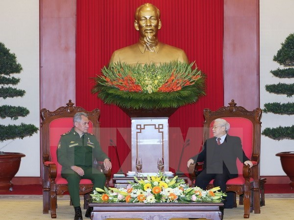 Vietnam wants Russia's greater role in Asia-Pacific: Party chief hinh anh 1