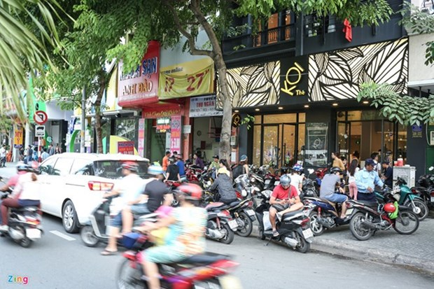 105-year-old tea shop still open for business in downtown HCM City hinh anh 1
