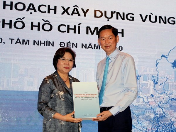 Changes in HCM City Region's planning help foster localities' connection hinh anh 1