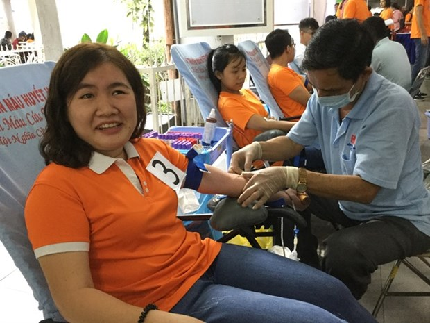 Health facilities call for blood donations for Tet hinh anh 1