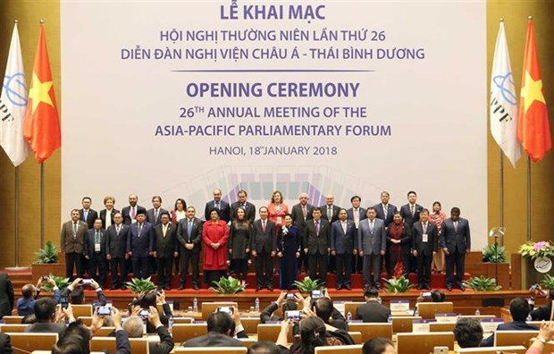 APPF-26 in forefront of fostering sustainable development goals hinh anh 1