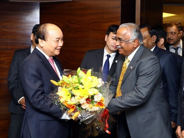 Prime Minister receives CEOs of leading Indian businesses hinh anh 1