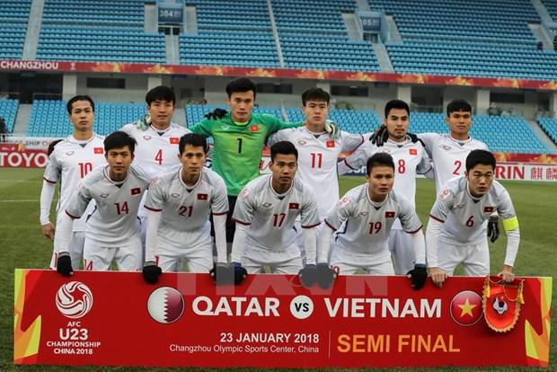 Vietnam's U23 team receives rewards for final march berth hinh anh 1