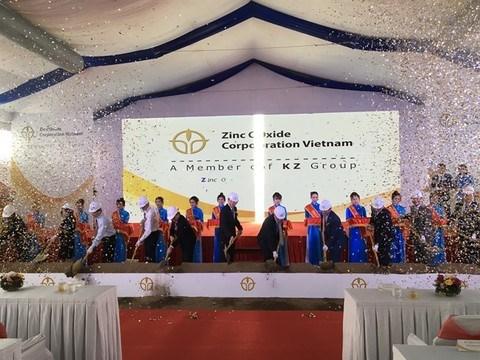 Zinc Oxide Vietnam starts recycling plant hinh anh 1