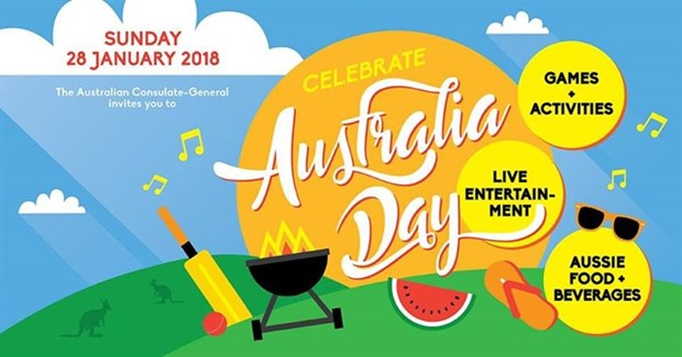 Australia Day community event in HCM City hinh anh 1