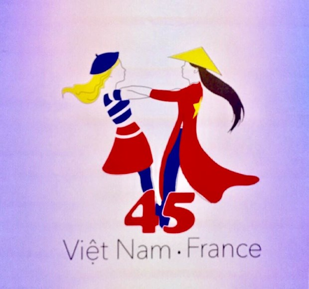 Logo designed to celebrate Vietnam-France diplomatic ties hinh anh 1