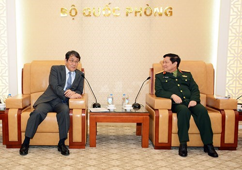 Vietnam, Japan deepen defence cooperative ties hinh anh 1
