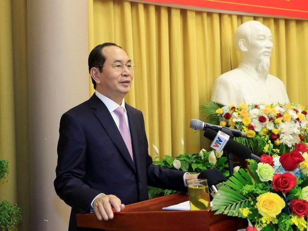 President urges business renovation for sustainable development hinh anh 1