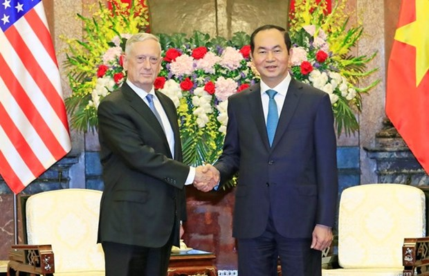 President: Vietnam treasures comprehensive relations with US hinh anh 1