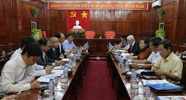 Japanese group eyes solar energy plant in Binh Phuoc hinh anh 1