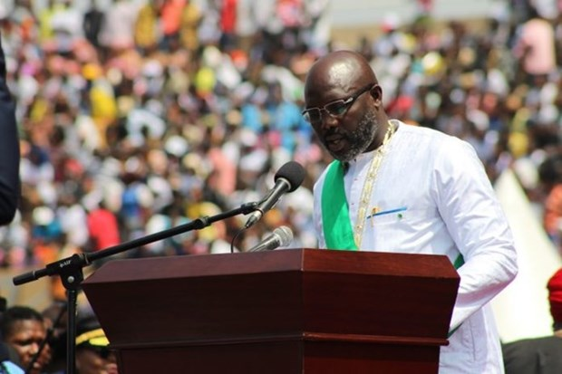 Congratulations to new Liberian President hinh anh 1