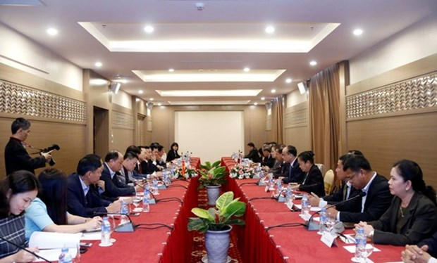 Vietnam, Laos work to ensure quality of Lao NA House hinh anh 1