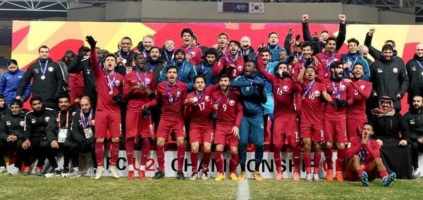 Qatar take bronze at AFC U23 Championship in China hinh anh 1