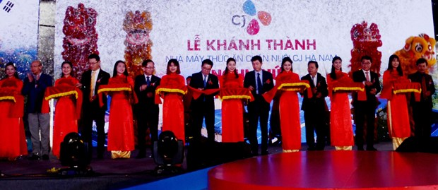RoK's CJ Group inaugurates 5th animal food factory in Ha Nam hinh anh 1