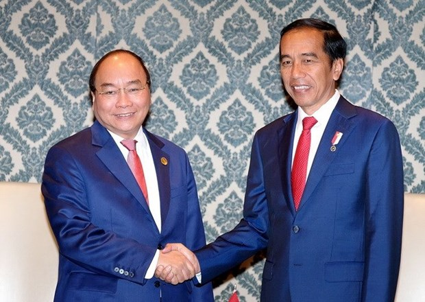 PM meets Cambodian, Indonesian leaders in New Delhi hinh anh 1