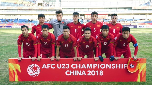 National U23 team get first-class Labour Order hinh anh 1