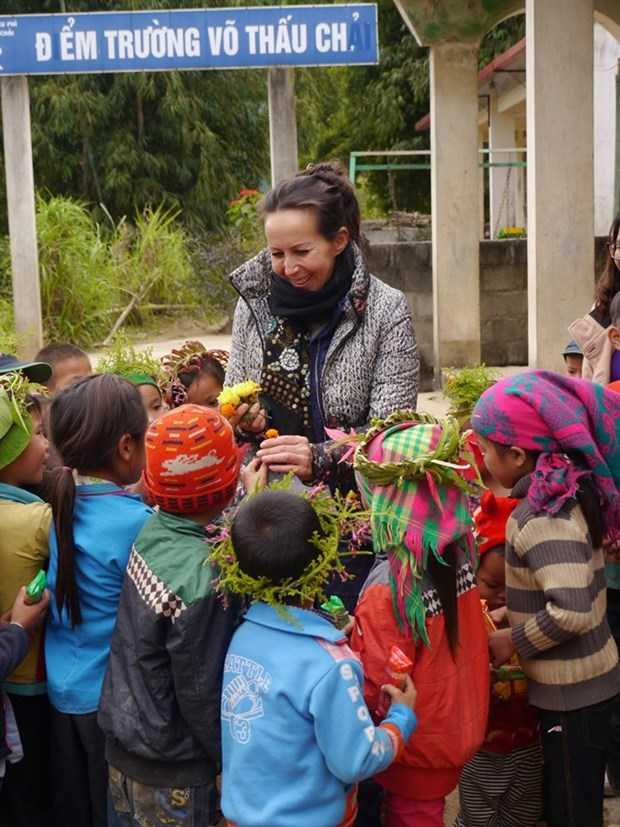LO-ANH foundation aids ethnic minority children hinh anh 1
