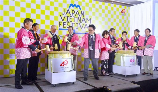 Fifth Vietnam-Japan festival opens in HCM City hinh anh 1