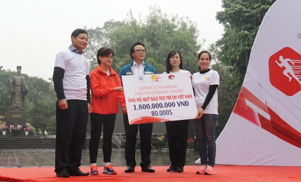 Additional 1.8 billion VND to support mountainous children in Tuyen Quang hinh anh 1