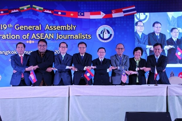 Vietnam attends Confederation of ASEAN Journalists' General Assembly hinh anh 1