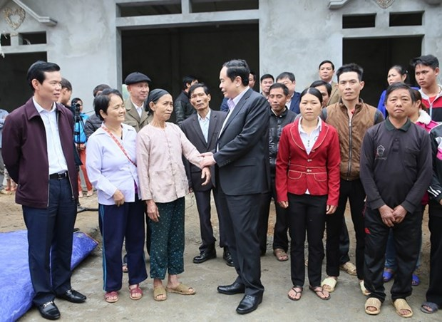 VFF ensures warm Tet for disadvantaged people hinh anh 1