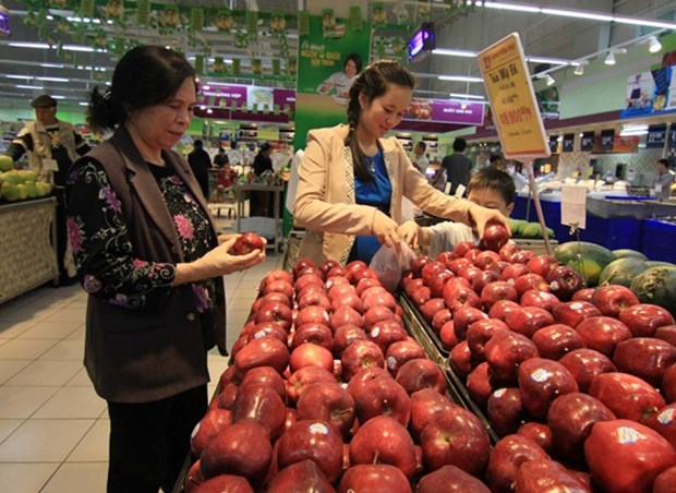 Slight rise in January's consumer price index in Hanoi hinh anh 1