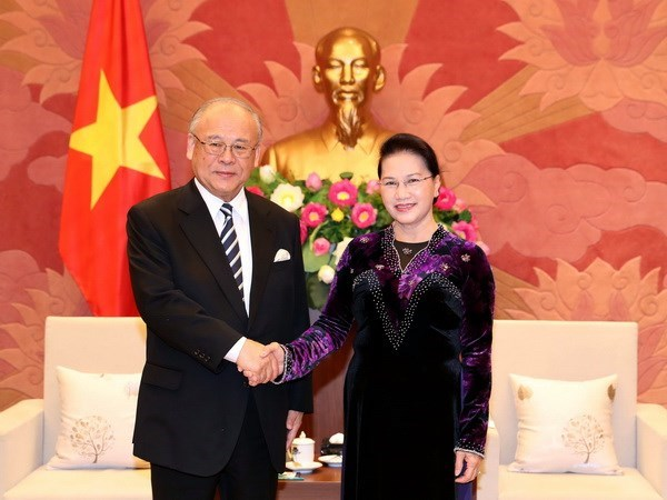 Cultural exchanges connect Vietnam, Japan: NA chief hinh anh 1