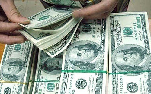 Reference exchange rate up by 10 VND at week's beginning hinh anh 1