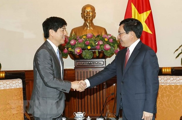 Japan's FM vows close cooperation to foster ties with Vietnam hinh anh 1