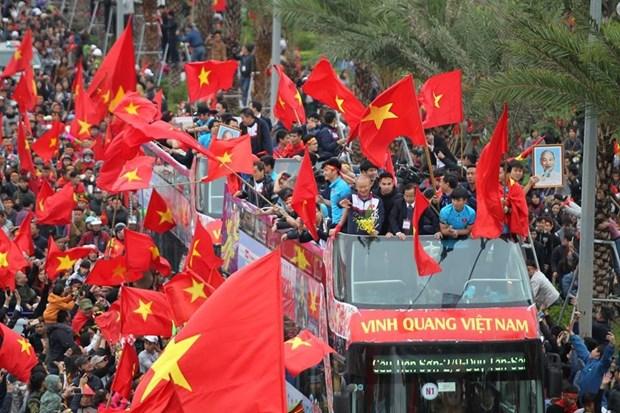 Football brings Vietnam, RoK closer: Korean newspaper hinh anh 1
