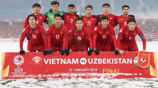 "AFC describes Vietnam as ""penalty kings"" at AFC U-23 Championship hinh anh 1"