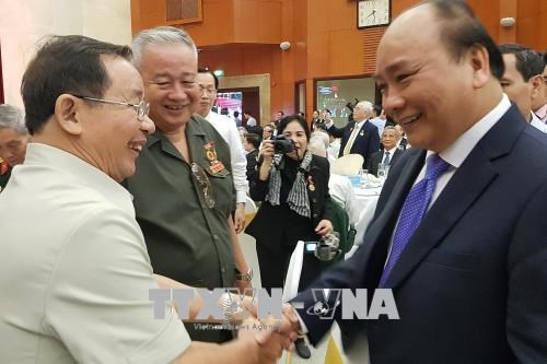 Get-together marks 50th anniversary of Tet Offensive hinh anh 1