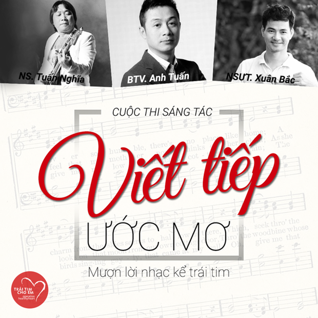 Contest calls for songs about children with heart defects hinh anh 1