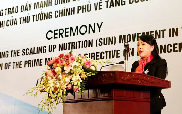 Vietnam launches Scaling Up Nutrition Movement hinh anh 1