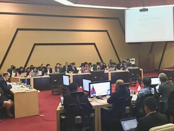 ASEAN and EU foster security cooperation hinh anh 1