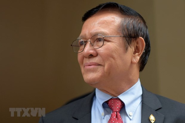 Cambodian court rejects bail for former opposition leader hinh anh 1