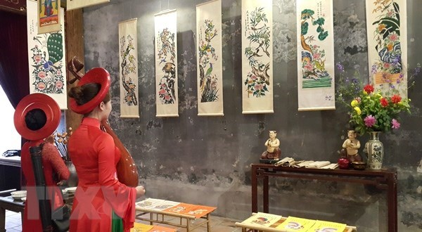 Exhibition of folk paintings opens in Da Nang hinh anh 1