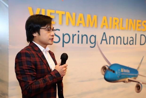 Vietnam Airlines in Hong Kong seeks international partnership hinh anh 1