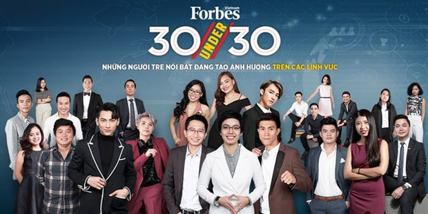 Forbes Vietnam announces 30 Under 30 list hinh anh 1