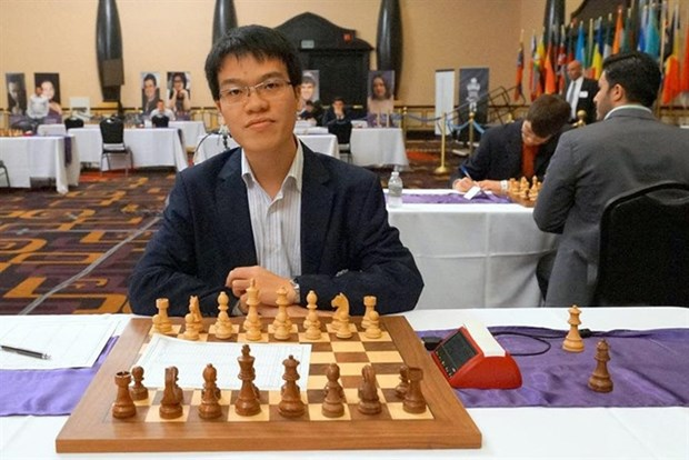 VN Grandmaster wins 8th match at Gibraltar Chess Festival hinh anh 1