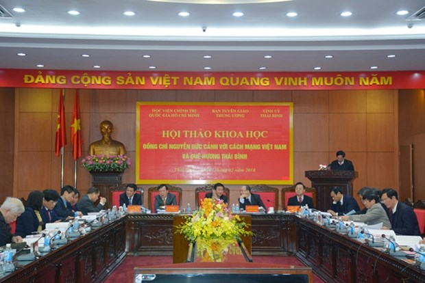 Communist leader commemorated in hometown hinh anh 1