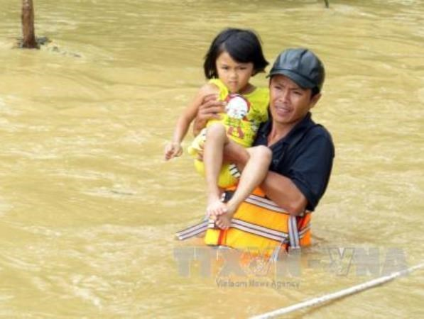 UNICEF helps Ninh Thuan mitigate disasters focusing on kids hinh anh 1