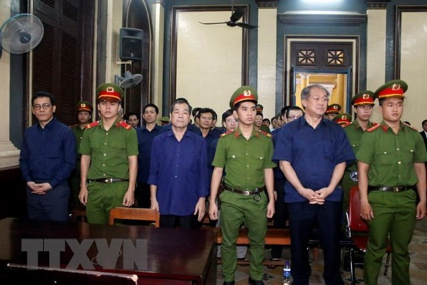 Construction bank case: defendants ask for clemency hinh anh 1
